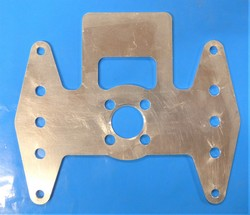 Brake Mount Plate Dual 5/16 Axle Bolt